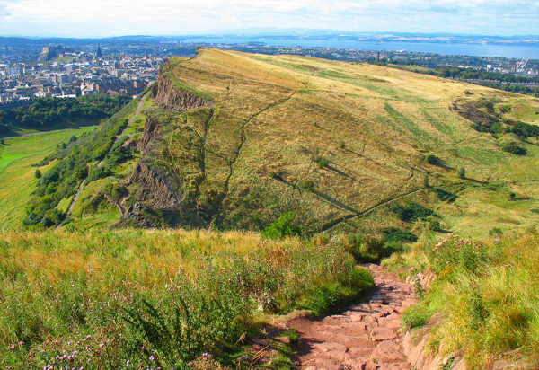 Arthur's Seat offers a lovely hill walk right in the heart of Edinburgh, with fabulous views in all directions. Expect a family walk to take 2-2.5 hours